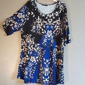 Lily by Firmiana dress/tunic top, sz 3XL